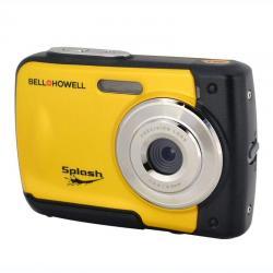 Bell+Howell Splash 12.0 Megapixel Waterproof Digital Camera (Yellow) - WP10-Y