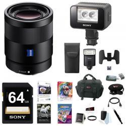 Sony 16-35mm E-Mount Lens, HVLF32M Flash, HVLLEIR1 Video and IR Light Bundle
