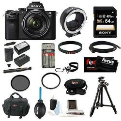 Sony Alpha a7II with 28-70mm Lens Metabones Adaptor 64GB Deluxe Accessory Kit