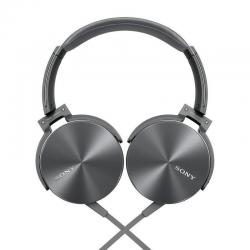 Sony Extra Bass Smartphone Headset (Silver) Acoustic Bass Booster MDRXB950AP/H