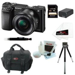 If you are looking Sony Alpha a6000 ILCE-6000L/B ILCE6000LB 24.3 Interchangeable Lens Camera + Kit you can buy to focuscamera, It is on sale at the best price