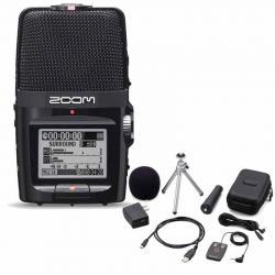 Zoom H2n Handy Handheld Digital Multitrack Recorder with APH-2n Accessory Pack