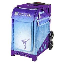 Zuca Ice Dreamz Sport Insert Bag with Purple Frame, Flashing Wheels