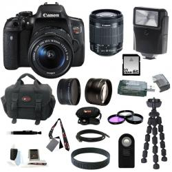 If you are looking Canon EOS Rebel T6i DSLR Camera w/ 18-55mm Lens and 32GB Deluxe Bundle you can buy to focuscamera, It is on sale at the best price