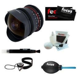If you are looking ROKINON RK8MV-C 8mm T3.8 Cine Fisheye Lens for Canon EF Mount + Care Kit you can buy to focuscamera, It is on sale at the best price