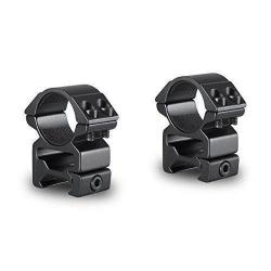 "Hawke 2pc 1"" Weaver High Q Peep Mount for Riflescope - 22114"