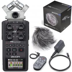 Zoom H6 Portable Recorder w/ Zoom Accessory Pack for H6