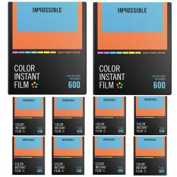 If you are looking Impossible Project 600 Color(Color Frames) for I-1 Camera & Instant Lab(10-pack you can buy to focuscamera, It is on sale at the best price