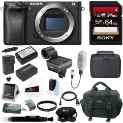 If you are looking Sony a6300 Mirrorless Digital (Body Only) + Sony XLRK2M Adapter Kit w/ Mic you can buy to focuscamera, It is on sale at the best price