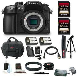 If you are looking Panasonic LUMIX DMC-GH4KBODY Digital Mirrorless Camera (Body) + 64GB Kit you can buy to focuscamera, It is on sale at the best price