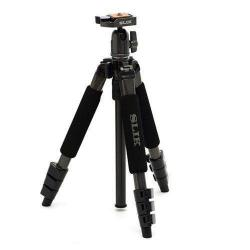 If you are looking Slik Mini II 43.3IN. Compact 4 Section Tripod With Ball Head in Gun Metal Finish you can buy to focuscamera, It is on sale at the best price