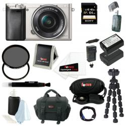 If you are looking Sony Alpha a6000 Lens Camera w/ 16-50mm Lens (S) & 64GB SDHC Bundle you can buy to focuscamera, It is on sale at the best price
