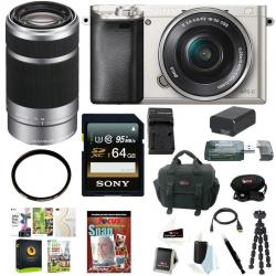 If you are looking Sony a6000 24.3MP Mirrorless Camera w/ 16-50mm Lens, Bundle you can buy to focuscamera, It is on sale at the best price