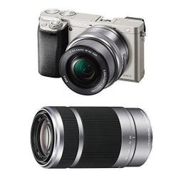 If you are looking Sony Alpha a6000 24.3MP Digital Camera with 16-50mm & 55-210mm Lenses (Silver) you can buy to focuscamera, It is on sale at the best price