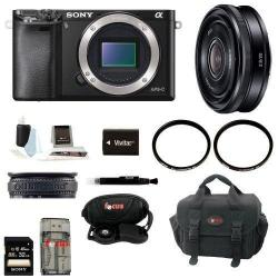 If you are looking Sony Alpha A6000 Mirrorless Digital Camera with 20mm Lens and 32GB Kit you can buy to focuscamera, It is on sale at the best price