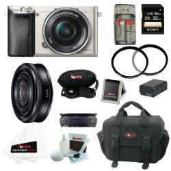 If you are looking Sony Alpha A6000 Digital Camera w/ 16-50 & 20mm Lenses and 32GB Kit you can buy to focuscamera, It is on sale at the best price