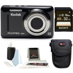 If you are looking Kodak PIXPRO Friendly Zoom FZ53 (Black) + Sony 32GB Class 10 70MB/s SDHC Memory you can buy to focuscamera, It is on sale at the best price
