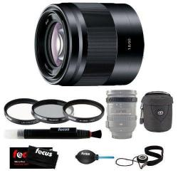 If you are looking Sony SEL50F18/B 50mm f/1.8 Lens with Tiffen 49mm Photo Essentials Kit and Acc. you can buy to focuscamera, It is on sale at the best price