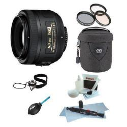 If you are looking Nikon AF-S DX NIKKOR 35mm f/1.8G Lens Bundle w/Tiffen 52mm Filter Kit+Accessorie you can buy to focuscamera, It is on sale at the best price