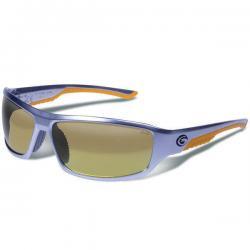 Gargoyles Prevail Polarized Tactical Sunglasse(Matte Silver/Brown/Orange Mirror)