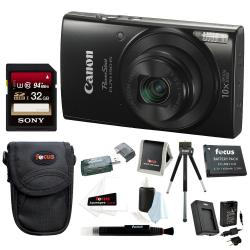 If you are looking Canon PowerShot ELPH 190 20 MP Digital Camera (Black) + 32GB Accessory Bundle you can buy to focuscamera, It is on sale at the best price