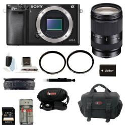 If you are looking Sony Alpha A6000 Mirrorless Digital Camera (Body) with 18-200mm Lens + 32GB Kit you can buy to focuscamera, It is on sale at the best price