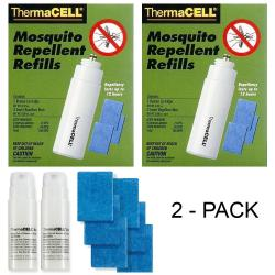 If you are looking Thermacell Mosquito Repellent Refill Pack for Repellers/Torch/Lanterns - 2-Pack you can buy to focuscamera, It is on sale at the best price