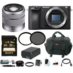 If you are looking Sony a6500 Mirrorless Camera w/ 18-55mm Lens + 32GB Accessory Bundle you can buy to focuscamera, It is on sale at the best price