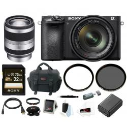 If you are looking Sony a6500 Mirrorless Camera w/ 18-200mm Lens + 32GB Deluxe Accessory Bundle you can buy to focuscamera, It is on sale at the best price