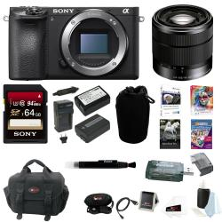 If you are looking Sony a6500 Mirrorless Camera w/ 18-55mm Lens + 64GB Card Accessory Bundle you can buy to focuscamera, It is on sale at the best price