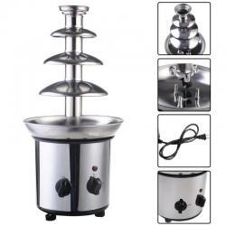 Si buscas 4 Tiers Commercial Stainless Steel Hot New Luxury Chocolate Fondue Fountain New puedes comprarlo con PHOTOSTORE está en venta al mejor precio