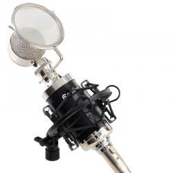 COSTWAY Professional Studio Sound Recording Condenser Microphone w/ Shock Mount