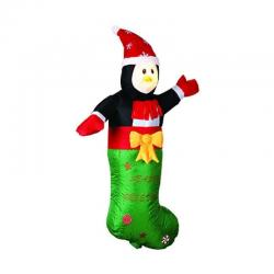 3.6 FT H Large Airblown Inflatable Little Man Christmas Lawn Yard Decoration