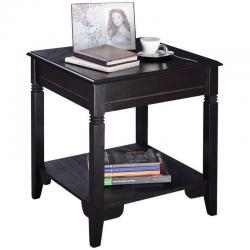 Nolan End Table Durable Quality Furniture Shelf Decor Home Living Room New