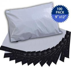 100 9x12 Poly Mailers Envelopes Shipping Bags Self Sealing Bags 2.6 Mil New