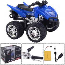 1/12 Scale 2.4G 4D R/C Simulation ATV Remote Control Motorcycle Kids Car Toys