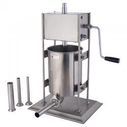 10L Vertical Sausage Stuffer 2 Speed Filler Meat Maker Machine Stainless Steel
