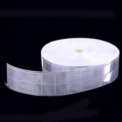 """2""""x160' Truck DOT Reflective Ribbon Conspicuity Safety White Square New"""