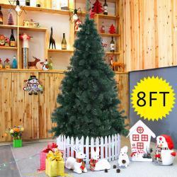 Si buscas 8Ft Artificial PVC Christmas Tree W/Stand Holiday Season Indoor Outdoor Green puedes comprarlo con MILOFERTAS_UY está en venta al mejor precio