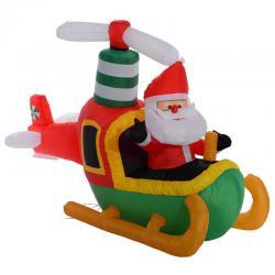 Si buscas 6 Ft Airblown Inflatable Christmas Santa Claus On Plane Decor Lawn Yard Outdoor puedes comprarlo con MILOFERTAS_UY está en venta al mejor precio