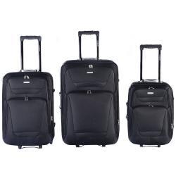 GLOBALWAY Expandable 3 PCs Luggage Travel Set Trolley Bag Suitcase 2 Wheels New
