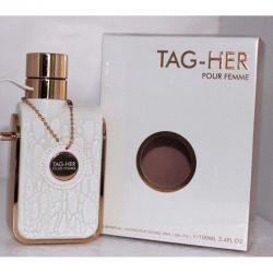 TAG HER Pour Femme by Armaf 3.4oz/100 ml.EDP Spray For Women BRANDNEW SEALED BOX