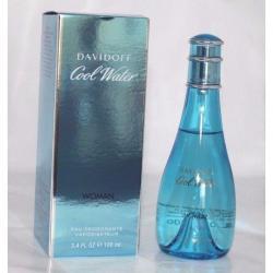 Cool Water by Davidoff Perfume Deodorant Spray 3.4 oz Brand New In Box