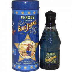 Blue Jeans by Versus Gianni Versace 2.5 oz EDT Cologne for Men New In Box