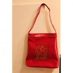 givenchy Bag Depth 11, Bag Height 21, Bag Length 9 and Red plastic MEDIUM