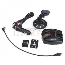 Full Band Car Radar Detectors Voice for GPS Navigator Patented Durable w/Charger