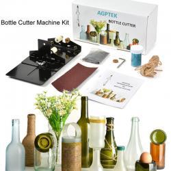 AGPTEK Glass Bottle Cutter Kit Bottle Cutting Machine Kit DIY Tool Set Recycle