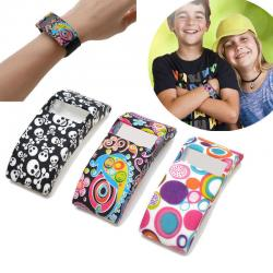 Fashion Soft Silicone Rubber Watch Band Cover for Fitbit Charge&Fitbit Charge HR