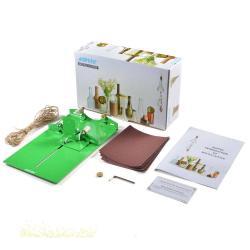 AGPtek Bottle Cutter Kit Wine Bottle Cutter Glass Cutting Machine+Power DIY Tool