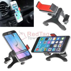 If you are looking Rotating Anti-slip Car Air Conditioner Vent A/C Port Mount Holder For Smartphone you can buy to redtagtown, It is on sale at the best price